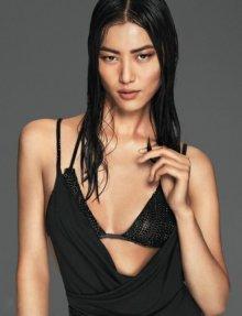 中国名模刘雯最新写真 健康的肤色
