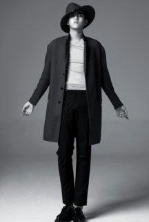 吴亦凡黑白图片 黑白写真大片感性魅力