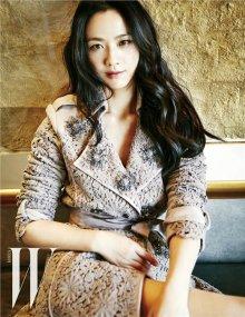 汤唯上韩国杂志优雅女神气质