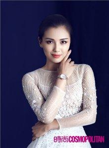 刘涛2015时尚写真 眼神柔和从容大气
