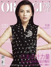 刘涛杂志封面写真女人味十足