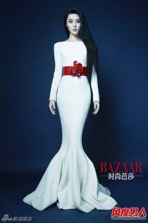 范冰冰化身蒙娜丽莎 时尚杂志写真